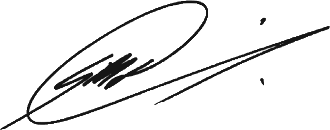 Signature of Gordon M. Dunning