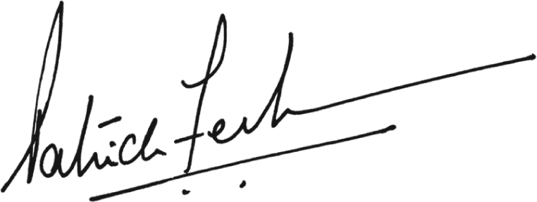 Signature of Patrick Fernandes