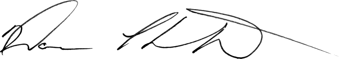 Signature of Dan Thornton